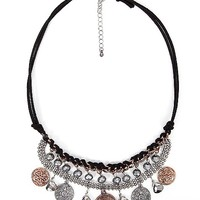 BKE Wrapped Chain Necklace