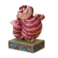 Disney Traditions designed by Jim Shore for Enesco Cheshire Cat Figurine 4 IN
