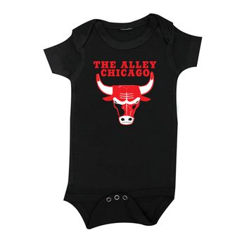 The Alley Basketballl Parody Infant Onesuit