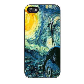 Nightmare Before Christmas Jack Alone iPhone 5s Case