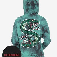 Riverdale Southside Serpents Tie Dye Girls Hoodie Hot Topic Exclusive