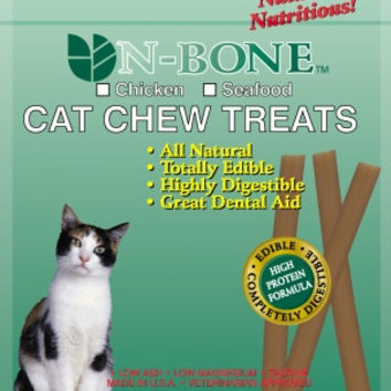 N-Bone Chew Treat Cat Bag - 3.74 oz