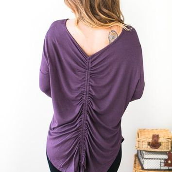 Tres Bien Ruched Tunic