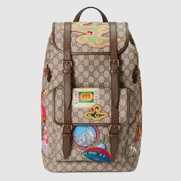 Gucci - Gucci Courrier soft GG Supreme backpack
