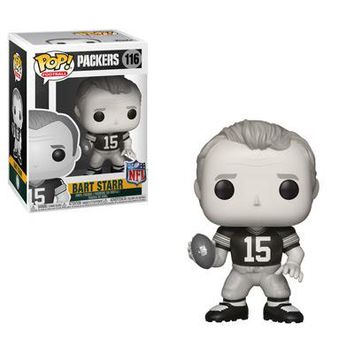 Bart Starr Black and White Funko Pop! NFL Legends Green Bay Packers