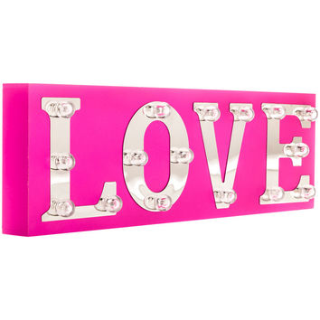 Hot Pink Love Marquee Sign | Hobby Lobby | 5729371
