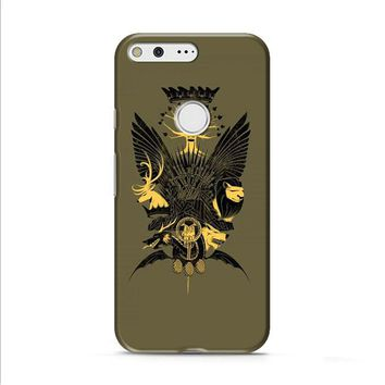 Game Of Thrones Who is Crown Google Pixel XL 2 Case