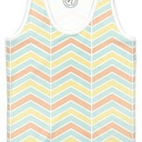 Summer Chevron Women's Trinity Tank by Tanya Legere | Nuvango