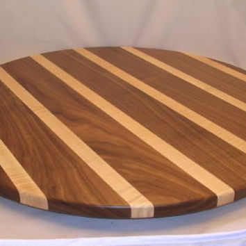 30IN Free Shipping Wood Lazy Susan Early American Masterpiece