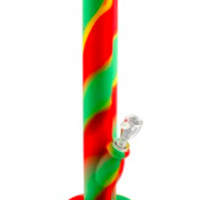 WATERPIPE - Silicone - Rasta