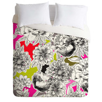 Mary Beth Freet Couture Home Floral 1 Duvet Cover