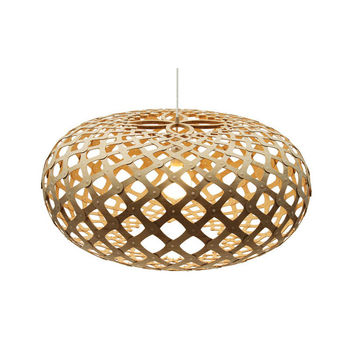 David Trubridge Natural Kina Pendant Light