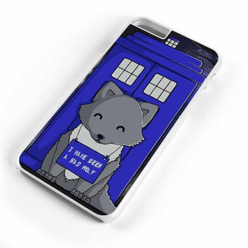 Doctor Who Tardis Bad Wolf Cute Wolf iPhone 6S Plus Case iPhone 6S Case iPhone 6 Plus Case iPhone 6 Case