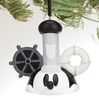 Mickey Mouse Ear Hat Ornament - Steamboat Willie | Disney Store
