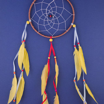 Large Native American Dream Catcher. HandMade Dream Catcher