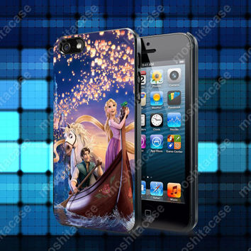 Disney Tangled 01 Case For iPhone 5, 5S, 5C, 4, 4S and Samsung Galaxy S3, S4