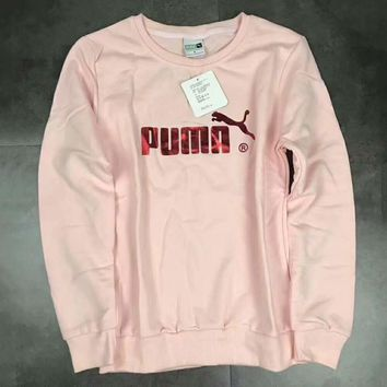 puma casual fashion sport monogram print long sleeve sweater g a ghsy 1  number 4