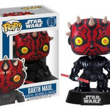 Funko Pop Star Wars: Darth Maul Vinyl Figure