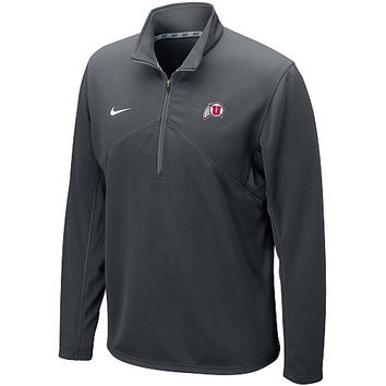 Nike Utah Utes Men's Dri-FIT 1/4-Zip Jacket