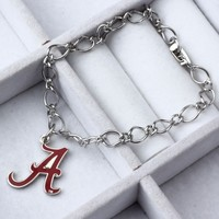 Alabama Crimson Tide WinCraft Ladies Charm Bracelet