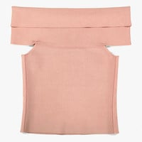 Rayon Off-Shoulder Stretch Top
