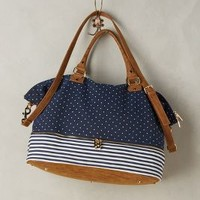 Deux Lux Merrimon Weekender in Navy Size: One Size Bags