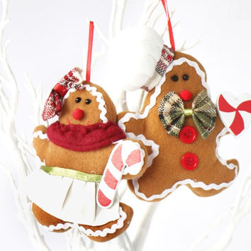 Christmas The Gingerbread Man Hanging Decorations [9601202959]