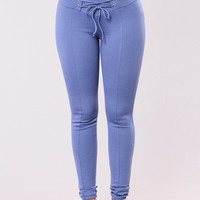 Don't Bother Pants - Denim Blue