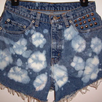 Vintage High Waisted Bleached Ralph Lauren Denim by BohoJane