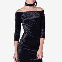 Angie Darkside Choker Midi Dress