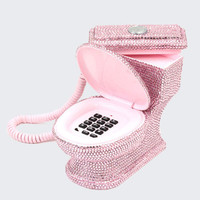 TOILET SEAT TELEPHONE