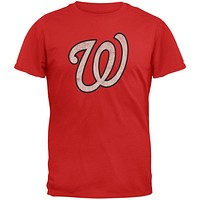 Washington Nationals - W Logo Soft T-Shirt