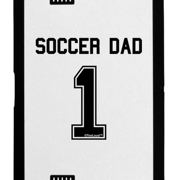 Soccer Dad Jersey Black Jazz Kindle Fire HD Cover by TooLoud