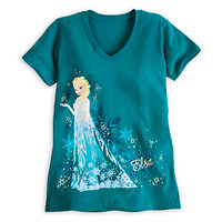 Disney Elsa Tee for Women - Frozen | Disney Store