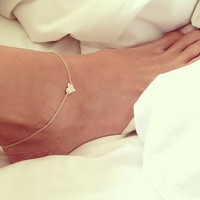Cute New Arrival Gift Jewelry Ladies Shiny Hot Sale Fashion Sexy Heart Stylish Anklet [8080499591]