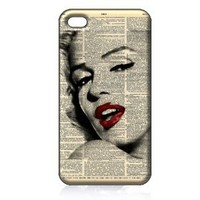 Amazon.com: Marilyn Monroe Hard Case Cover Skin for Iphone 4 4s Iphone4 At&t Sprint Verizon Retail Packing: Everything Else