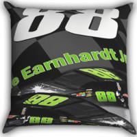 Dale Earnhardt Jr's 88 Nascar Sonoma Zippered Pillows  Covers 16x16, 18x18, 20x20 Inches