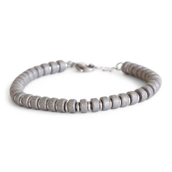 Limitless Bracelet in Silver Beads