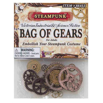 Costume Accessory: Steampunk Bag of Gears