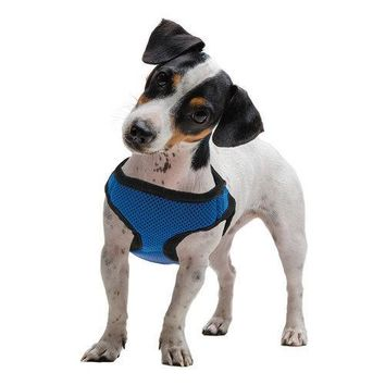 Small Blue Soft'n'Safe Dog Harness