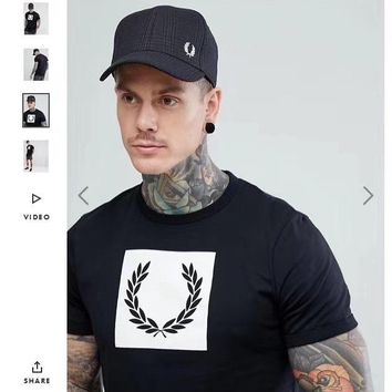 Fred Perry Fashion Men Women T-shirts