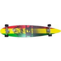 Krown Rasta City Surf Longboard Skateboard