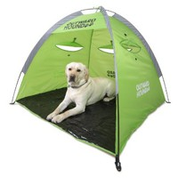 Outward Hound Kyjen  2546  Shade Shelter Pet Tent Outdoor Dog Shelter, Extra Large, Green
