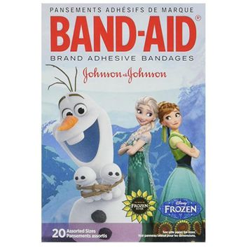 Band-Aid® Frozen Movie Bandages