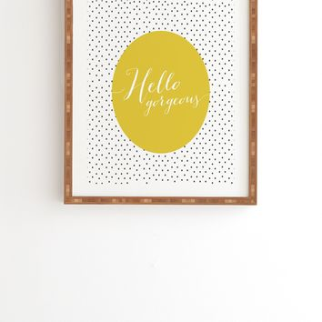 Allyson Johnson Hello Gorgeous Framed Wall Art