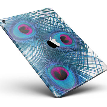 "Blue Peacock Full Body Skin for the iPad Pro (12.9"" or 9.7"" available)"