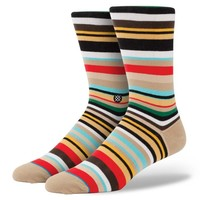 Stance | Netherfield Brown, Tan, White, Black, Aqua, Red, Yellow socks | Buy at the Official website Main Website.