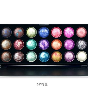 21 Color Fashion Eye shadow palette Cosmetics Mineral Make Up Makeup Eye Shadow Palette eyeshadow set for women 4 Style Color