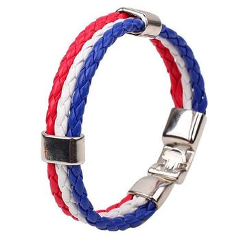 Team Russia Flag Bracelet