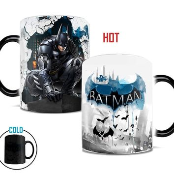 Batman Dark Knight gift Christmas Batman Dark Knight mug Light Magic color changing mug coffee tea cup batman fan Mug for best friend gift AT_71_6